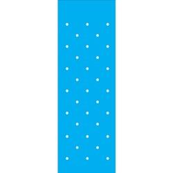 Stencil OPA 10x30 Simples 1 Chapa (OPA013) Círculos Pequeno