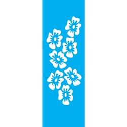 Stencil OPA 10x30 Simples 1 Chapa (OPA027) FloresTropicais