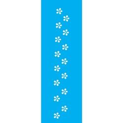 Stencil OPA 10x30 Simples 1 Chapa (OPA028) Florzinhas