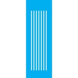 Stencil OPA 10x30 Simples 1 Chapa (OPA037) Listras Médias