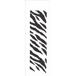 *Stencil OPA 10x30 Simples 1 Chapa (OPA044) Pele de Zebra