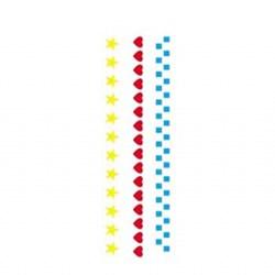 Stencil OPA 10x30 Simples 1 Chapa (OPA054) Três Barrados