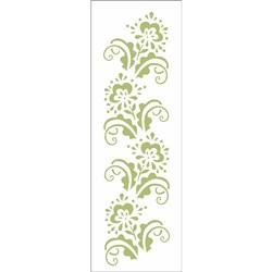 Stencil OPA 10x30 Simples 1 Chapa (OPA1351) Flores Coloniais