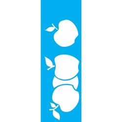 Stencil OPA 10x30 Simples 1 Chapa (OPA1873) Frutas Maçã