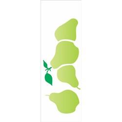 Stencil OPA 10x30 Simples 1 Chapa (OPA1874) Frutas Pêra
