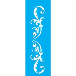 Stencil OPA 10x30 Simples 1 Chapa (OPA1987) Arabesco Ornamento