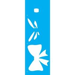 Stencil OPA 10x30 Simples 1 Chapa (OPA2232) Laço III