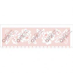 Stencil OPA 10x30 Simples 1 Chapa (OPA2616) Negativo Croche