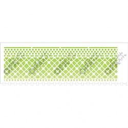 Stencil OPA 10x30 Simples 1 Chapa (OPA2617) Negativo Renda III
