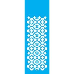 Stencil OPA 10x30 Simples 1 Chapa (OPA962) Border Folha
