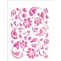 Stencil OPA 15x20 Simples 1 Chapa (OPA1006) Estamparia Floral II