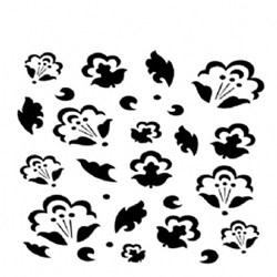 Stencil OPA 15x20 Simples 1 Chapa (OPA1011) Floral
