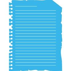 Stencil OPA 15x20 Simples 1 Chapa (OPA1840) Folha de Caderno Antigo