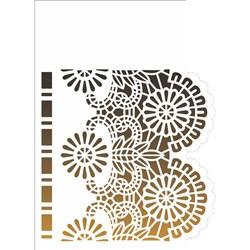 Stencil OPA 15x20 Simples 1 Chapa (OPA2576) Negativo Renda I