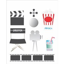Stencil OPA 20x25 Simples 1 Chapa (OPA1088) Cinema