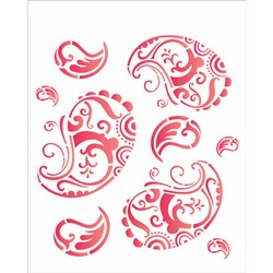 Stencil OPA 20x25 Simples 1 Chapa (OPA1154) Cashmere