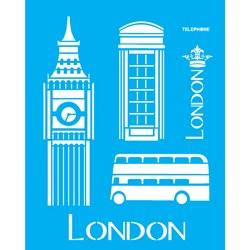 Stencil OPA 20x25 Simples 1 Chapa (OPA1161) London