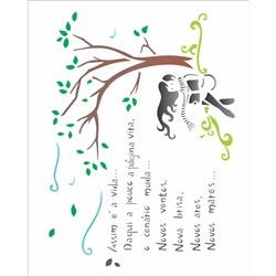 Stencil OPA 20x25 Simples 1 Chapa (OPA1336) Poema Vida