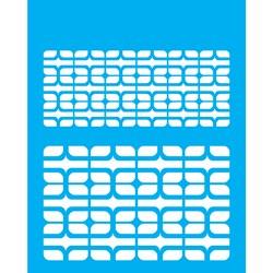 Stencil OPA 20x25 Simples 1 Chapa (OPA2181) Estamparia Retrô II