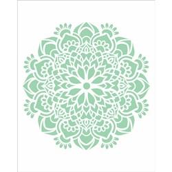 Stencil OPA 20x25 Simples 1 Chapa (OPA2458) Mandala Flor Bauer