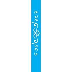 Stencil OPA 4x30 Simples 1 Chapa (OPA058) Arabesco