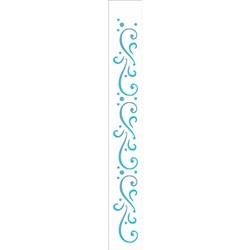 Stencil OPA 4x30 Simples 1 Chapa (OPA1176) Arabesco III