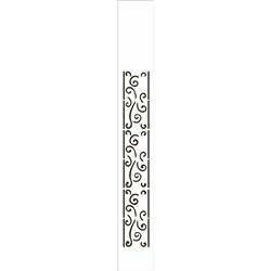 Stencil OPA 4x30 Simples 1 Chapa (OPA451) Borda Voluta
