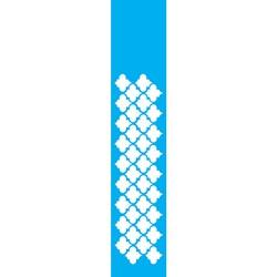 Stencil OPA 6x30 Simples 1 Chapa (OPA1075) Barra Copas