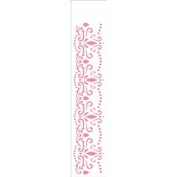Stencil OPA 6x30 Simples 1 Chapa (OPA2318) Arabesco Renda I