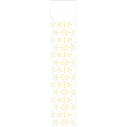 Stencil OPA 6x30 Simples 1 Chapa (OPA2319) Arabesco Renda II
