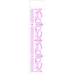 Stencil OPA 6x30 Simples 1 Chapa (OPA2320) Arabesco Vitoriano