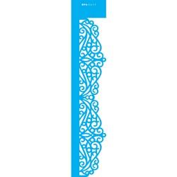 Stencil OPA 6x30 Simples 1 Chapa (OPA2411) Renda Arabesco I