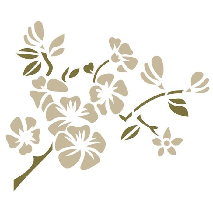 Stencil para Pintura Arte Fácil ST-565 Flores