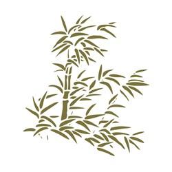 Stencil para Pintura Arte Fácil ST-757 Bambu