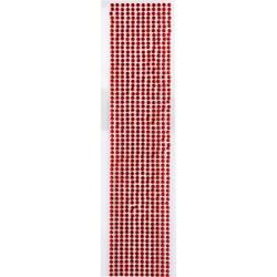 Strass Adesivo 3mm SA3 Vermelho