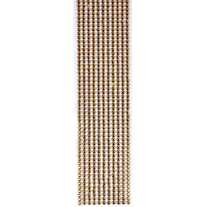 Strass Adesivo 4mm ST4-15 Dourado