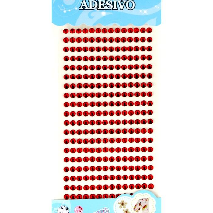 Strass Adesivo 5mm ST5-09 Vermelho