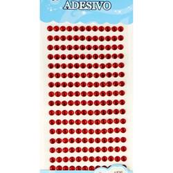 Strass Adesivo 6mm ST6-09 Vermelho