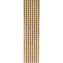 Strass Adesivo 6mm ST6-15 Dourado