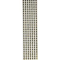 Strass Adesivo Coração 6mm CR6-15 Dourado