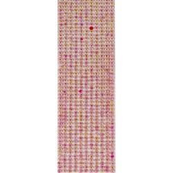 Strass Adesivo Florzinha 5mm SF5-05 Rosa Irizado