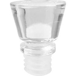 Tampa Acrílica Cristal de Pressão DIAMANTE FECHADO