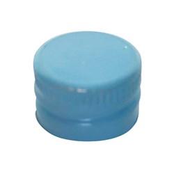 Tampa De Alumínio Azul Bebe R18 - 13x18mm