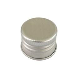 Tampa De Alumínio Prata R18 - 14x18mm