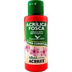 Tinta Acrílica Fosca - Nature Colors Acrilex 60mL - 507 Vermelho Fogo