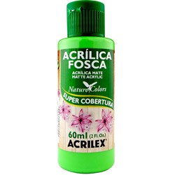 Tinta Acrílica Fosca - Nature Colors Acrilex 60mL - 510 Verde Folha