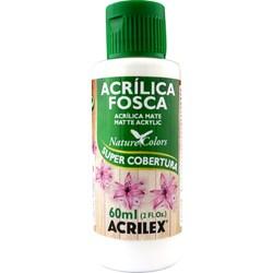 Tinta Acrílica Fosca - Nature Colors Acrilex 60mL - 519 Branco