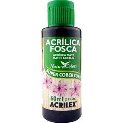 Tinta Acrílica Fosca - Nature Colors Acrilex 60mL - 520 Preto