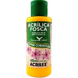 Tinta Acrílica Fosca - Nature Colors Acrilex 60mL - 536 Amarelo Cadmio
