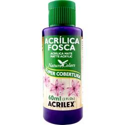 Tinta Acrílica Fosca - Nature Colors Acrilex 60mL - 540 Violeta Cobalto